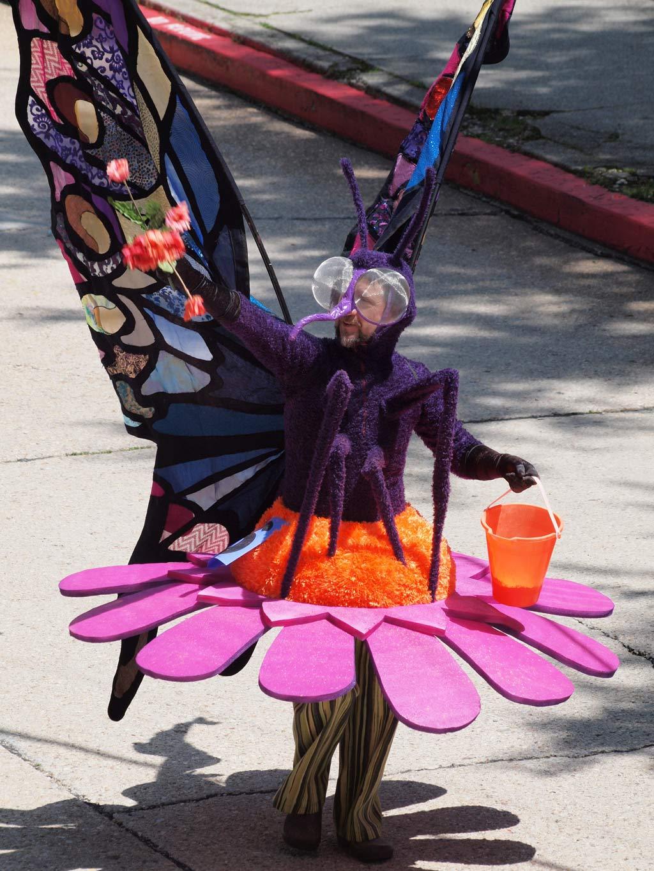 Participant in Eureka Springs Parade