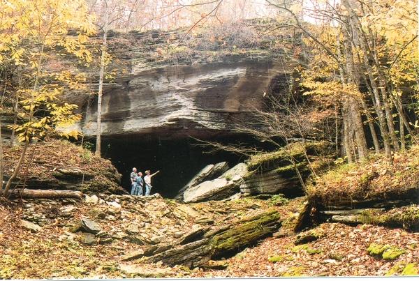 Cave in Eureka Springs area