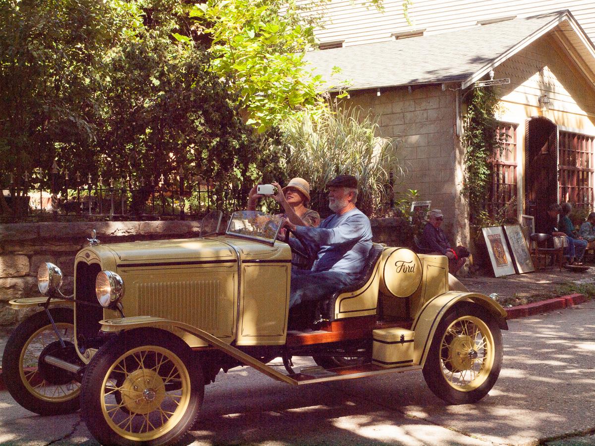 Classic Car in Eureka Springs Parade