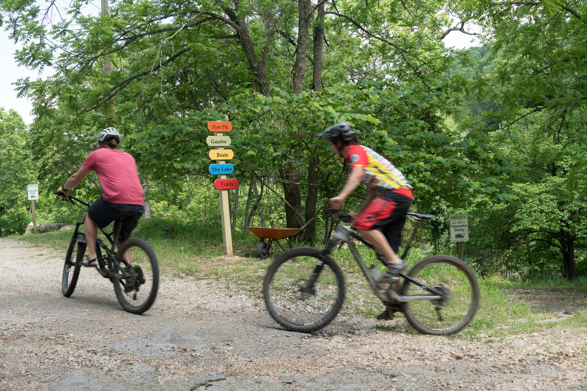 Mountain Biking Eureka Springs