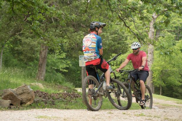 Eureka Springs Mountain Biking